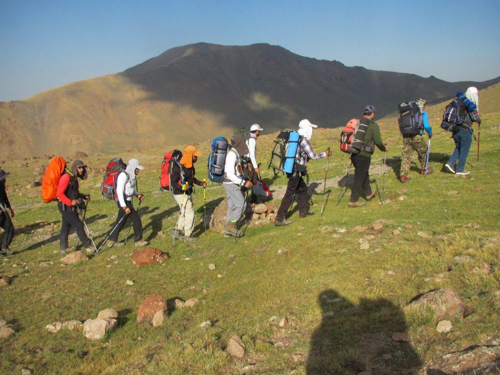تصویر از هیجان کوهنوردی..!