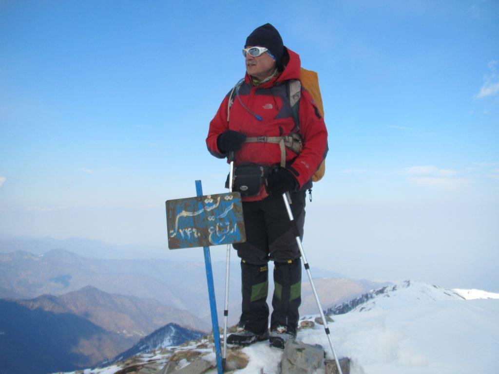 تصویر از قله توریشوم ماسوله