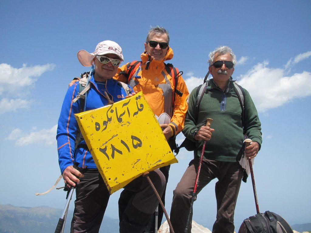 تصویر از صعود به قله آسمانکوه