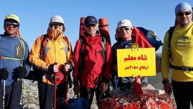 تصویر از صعود شبانه به قله شاه معلم در آخرین خردادقرن